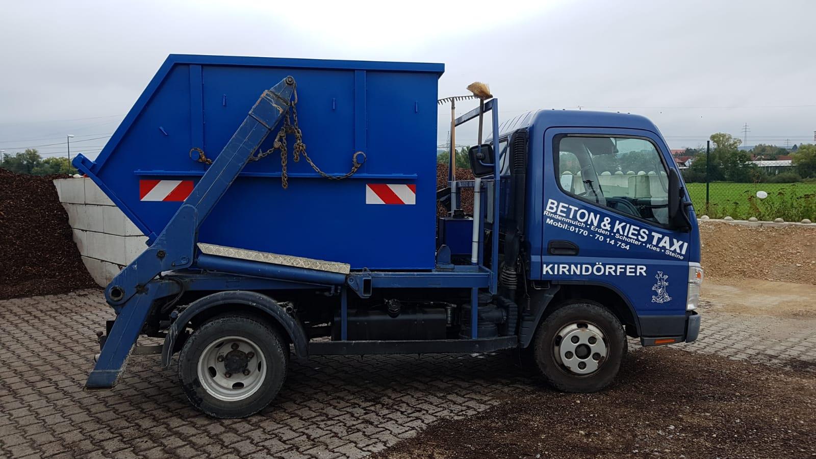 Container Absetzmulde Speedy MAX 4 cbm nach DIN 30720 mit Pendelklappe und UVV