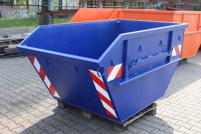 Container Absetzmulde 2 cbm nach DIN 30720