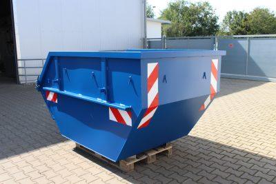 Container Absetzmulde 3 cbm nach DIN 30720 mit Ladeklappe und UVV